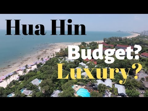 Hua Hin Walkabout + Budget, Luxury Hotels Tour