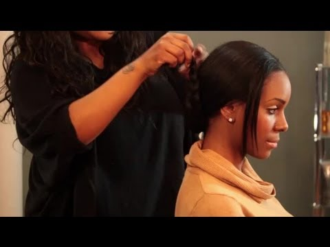 Braiding styles with a hair weave hair styling tips youtube braiding styles with a hair weave hair styling tips pmusecretfo Image collections