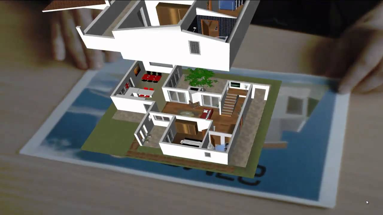 Augmented Architectural Demonstration YouTube