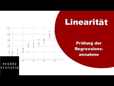 Linearität Als Regressionsvoraussetzung Prüfen