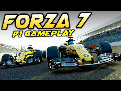 Renault F1 R.S.17 - Forza Motorsport 7 Gameplay! (F1 2017 Car in Forza 7)