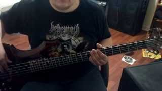 Cradle of Filth - Temptation - (Bass Cover)
