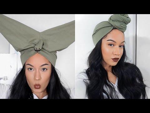 hair-hack|-easy-turban/headwrap-using-leggings-ft.-vip-beauty-aliexpress