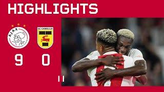 Goals everywhere 🥵   Highlights Ajax - SC Cambuur   Eredivisie
