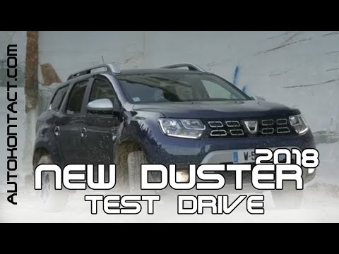 Новый Дастер 2018 внедорожный тест драйв 4х4. New Duster Off Road test drive