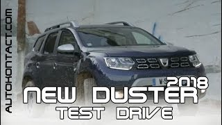 Новый Дастер 2018 - внедорожный тест драйв 4х4. New Duster Off-Road test drive