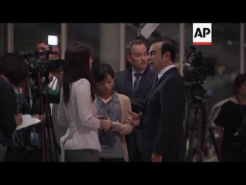 Archive footage of former Nissan chairman Ghosn Mp3