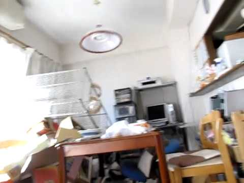 Japan Earthquake Eyewitness - Chiba - 9th Floor Apartment