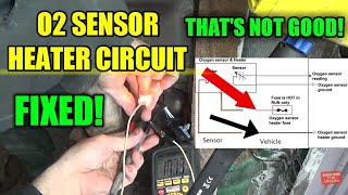 o2 sensor heater circuit fault - Chevy S10 this applies to many makes and models