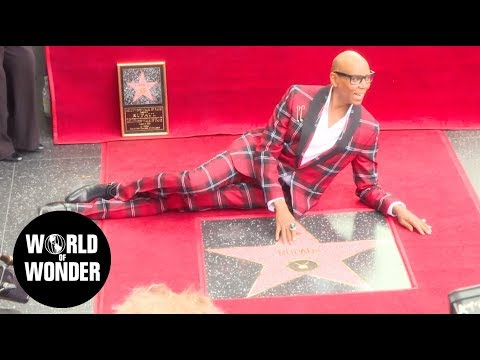 RuPaul's Hollywood Walk of Fame Ceremony with Jane Fonda  March 16, 2018