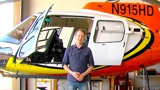 Flying High With a News Helicopter Crew