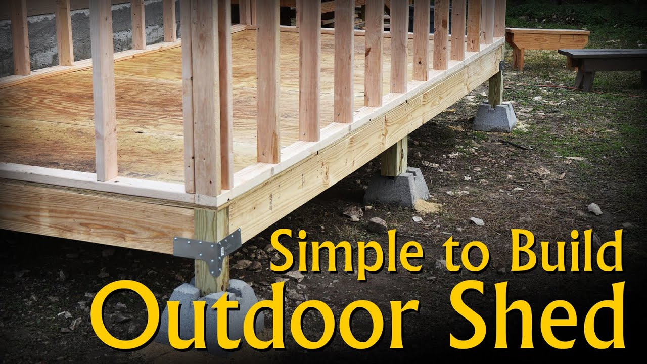 Download Build a Simple, Inexpensive, Outdoor Storage Shed with Basic Hand Power Tools.