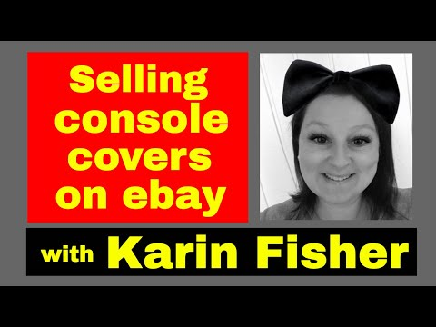 Reselling Hangout - With Karin Fisher - Selling Console Covers On Ebay..