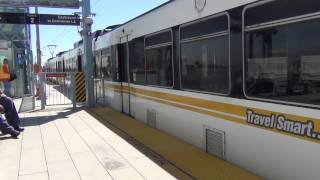 LA Metro Rail Nippon Sharyo P865 #115 Expo Line arriving into Culver City