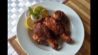 Easy &ampSpicy Chicken Drumstick FryChicken Drumstick Recipe..