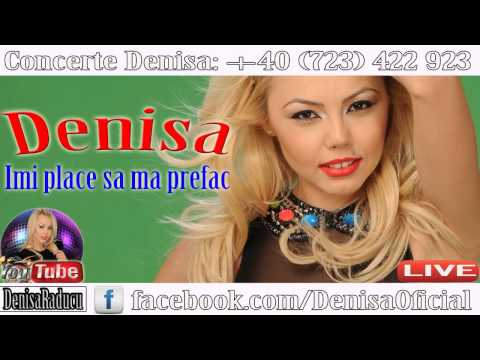 DENISA LIVE - Imi place sa ma prefac (NUNTA 2015) Cele mai noi manele Septembrie