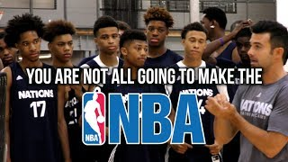 The Truth About Being A Top HS Player... adidas Nations Training Camp Day 1 Recap