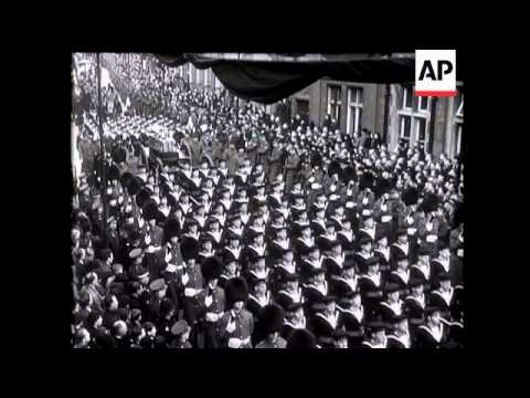In Sadness He Passes King George V - 1936