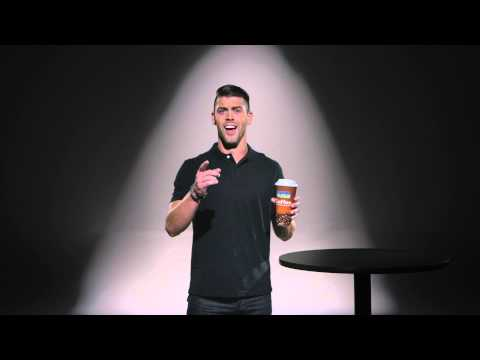 Justin Tucker gets a kick out of our coffee.