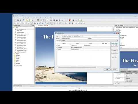 Create An EBook With Sigil | 7 | Metadata