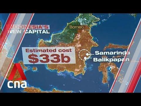 Indonesia picks Borneo island as site for new capital