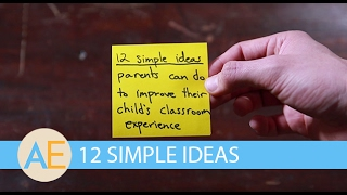 12 Simple Ideas Parents Can Do To Improve Their ASD Child's Classroom Experience