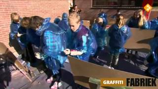 graffiti-fabriek - graffiti workshop jeugdjournaal (deel je droom)