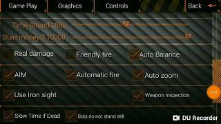 SPECIAL FORCES GROUP 2: MY SETTINGS