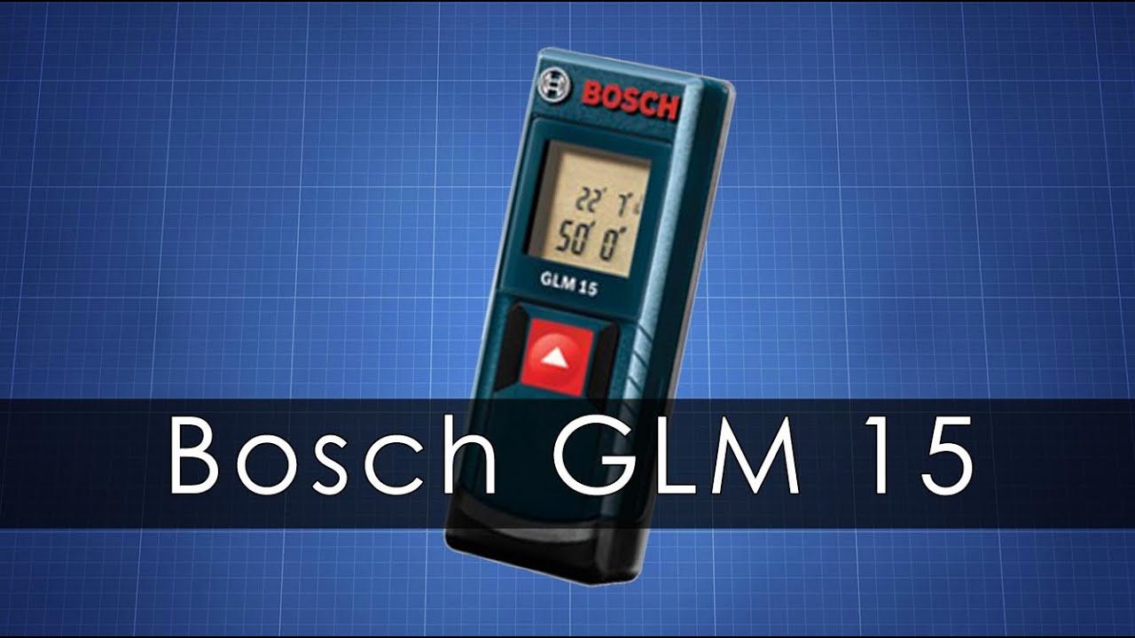 bosch glm15 youtube. Black Bedroom Furniture Sets. Home Design Ideas