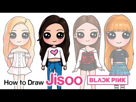 How to Draw Jisoo | BlackPink Kpop
