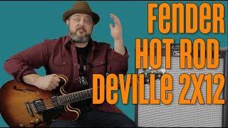Best Pro Amp For Price? Fender Hot Rod Deville 2x12 60 watt