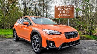 2018 Subaru Crosstrek Limited : Vehicle Review /Overview in a Rainstorm ! Upstate New York.