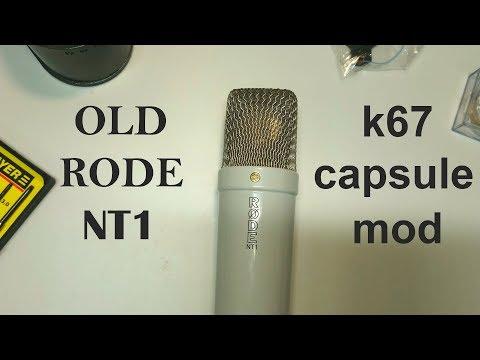 Rode NT1 K67 Capsule Mod