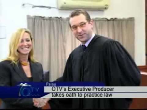 OTV's Executive Producer Takes Oath To Practice Law