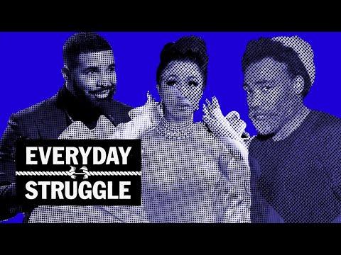 Cardi B Wins Best Rap Album, Drake Shades Grammys, Soulja Boy Cancels Gucci | Everyday Struggle