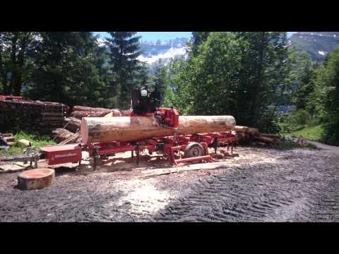 Wood-Mizer LT 70 im einsatz