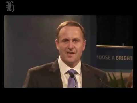 John Key Victory Speech