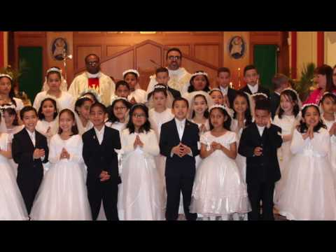 Mother Seton School First Holy Communion May 21, 2016