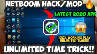 Netboom hack/New apk 🔥| Unlimited time 100% working with proof | New ps4/pc emulator / cloud gaming
