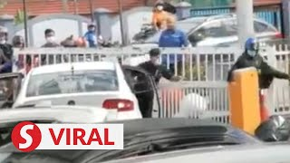 Man detained after high-speed car chase in KL