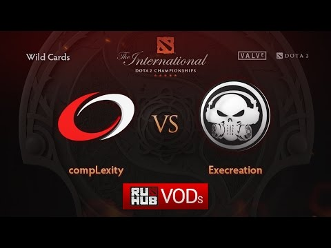 compLexity vs Execration, TI6 Wild Card, Игра 2
