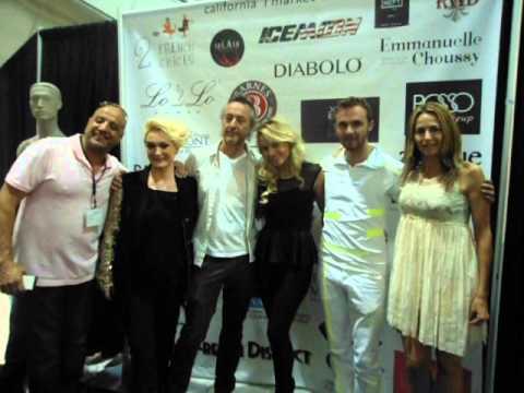 California Fashion show- Paris designer jeans Skylton
