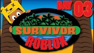 FIGHT FOR SURVIVAL | DAY 3 | ROBLOX | SURVIVOR BETA | ONLINE GAMEPLAY