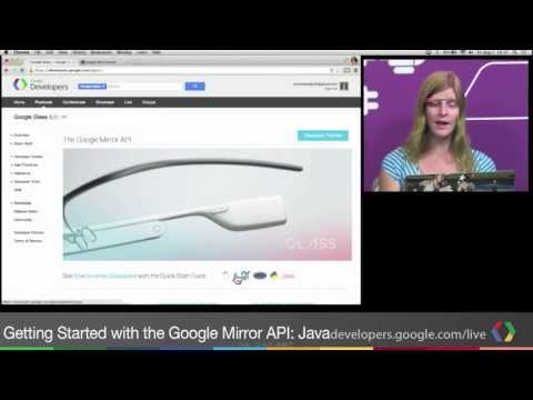 Getting started with the Google Mirror API: Java