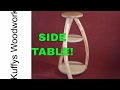 Making a side table // Woodworking