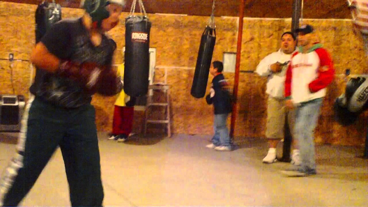 Jose Mier Vs Oscar Acevedo (Garden City Boxing Club) Sparring Match ...