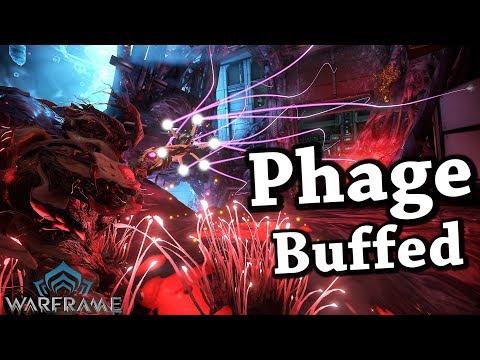 Warframe | Phage [Buffed] (4 Forma Build)