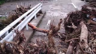台風10号被害 岩手県岩泉町安家川口 1