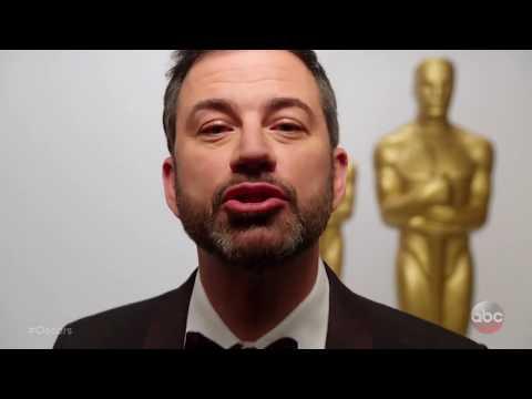 Oscars - Jimmy's New Year's Kiss