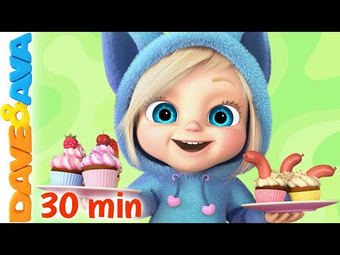 🍔  Jack Sprat and More Nursery Rhymes and Baby Songs by Dave and Ava 🍔